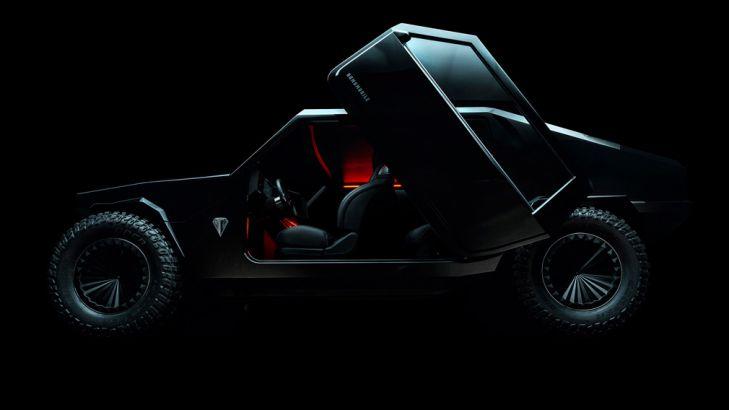 Производитель кальянов построил вседорожный автомобиль свыдвижной гусеницей