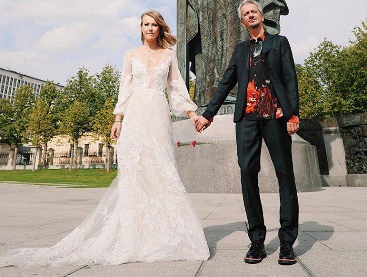 Филипп Киркоров показал эротический свадебный танец полуголой Ксении Собчак
