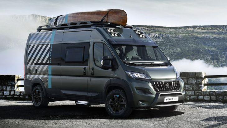 Peugeot представила фургон Boxer 4x4
