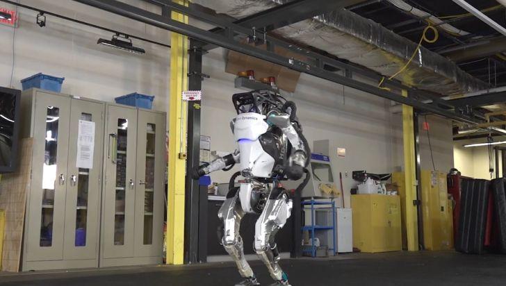Boston Dynamics научил своего робота гимнастике - Новости Израиля и Ближнего Востока, Арабо-израильский конфликт
