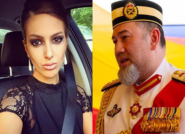 Прежний монарх Малайзии бросил российскую супругу из-за ее«астрономических» запросов