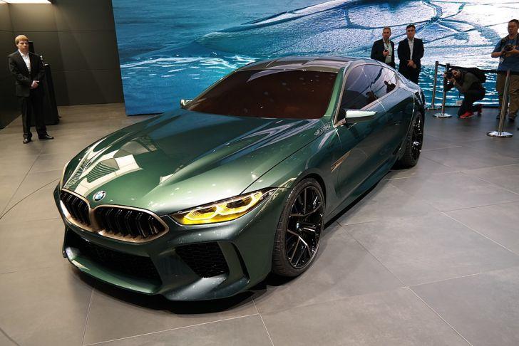 BMW презентовал заряженный M8 Gran Coupe