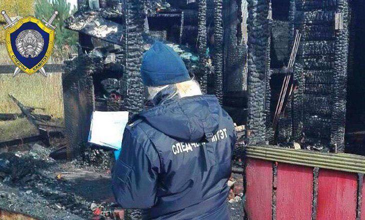 Смертельный пожар в Кличевском районе:СК начал проверку