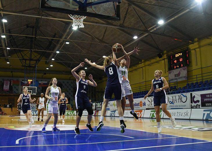 Баскетболистки «Цмоки-Минск» одержали вторую кряду победу в EWBL