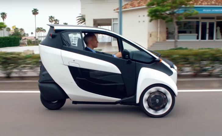 Тойота представит вТокио мини-электрокар BEV