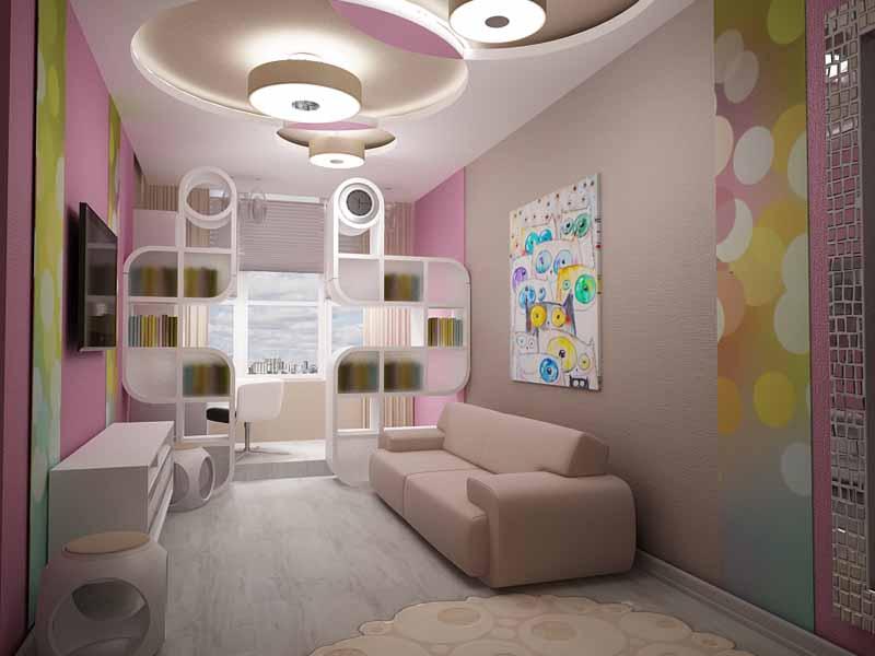 Дизайн прямоугольная комната фото