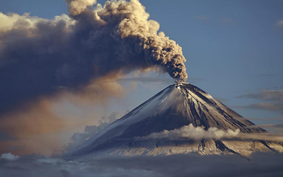 Потухшие вулканы сильно разрушены