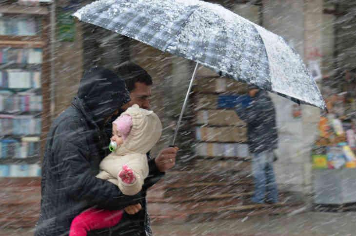 Дожди и мокрый снег ожидаются в Беларуси в выходные