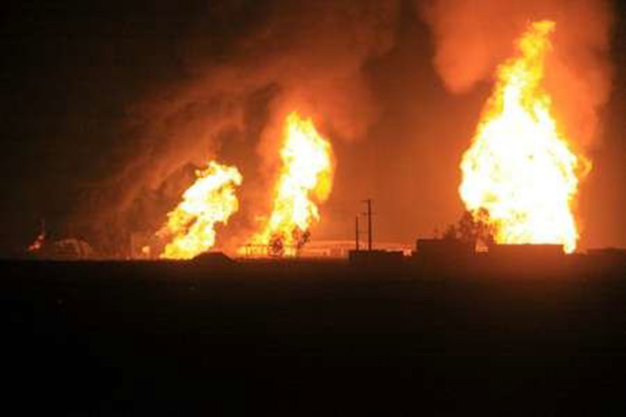 Взрыв на НПЗ в пригороде Тегерана унес жизни шести человек?