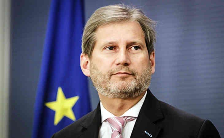 Кобяков обсудил с еврокомиссаром Ханом взаимодействие Беларуси и ЕС