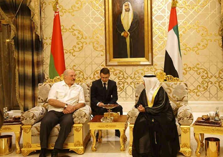 Лукашенко посещает Объединенные Арабские Эмираты с рабочим визитом?
