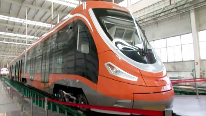 В Китае запустили трамвай на водородном топливе