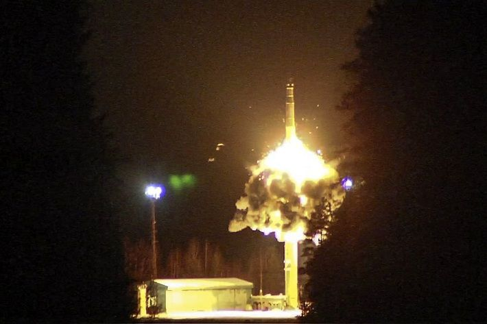 Минобороны России опубликовало видео тренировки ядерных сил
