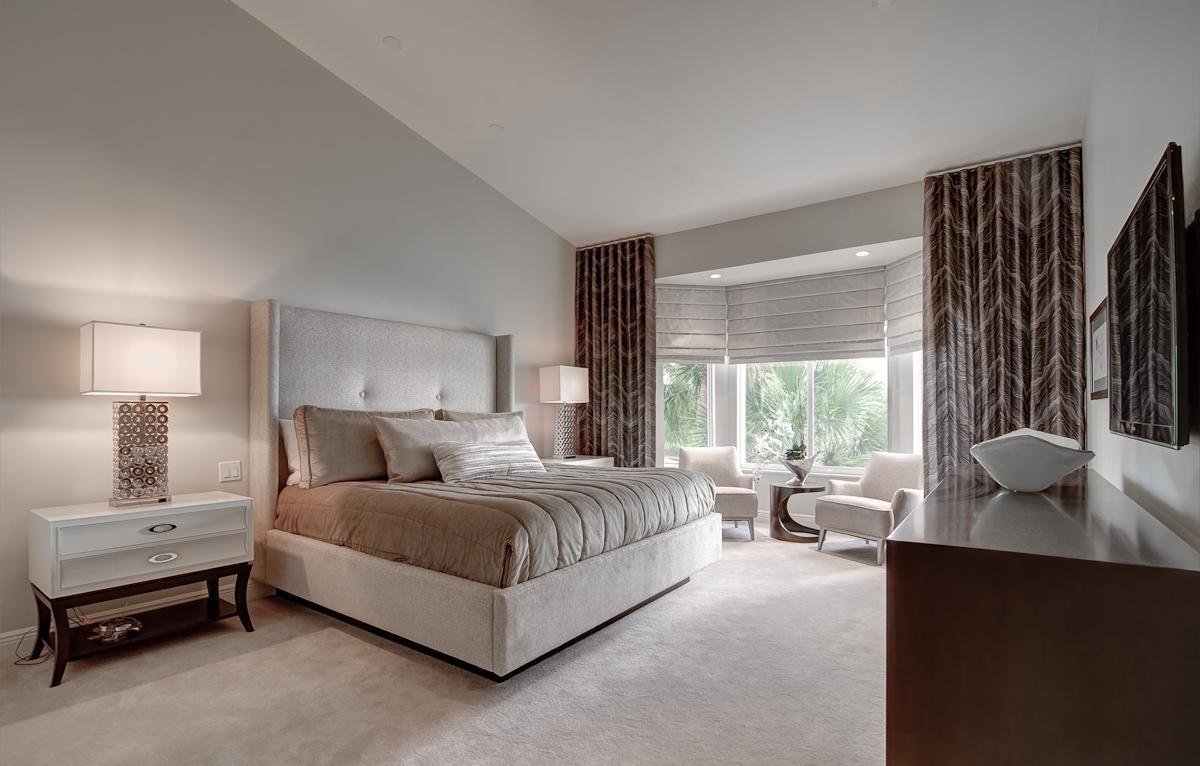 этой дизайн спальни с эркером фото тому