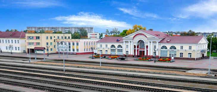 В Полоцке из-за коробки с цветами с вокзала эвакуировали 30 человек