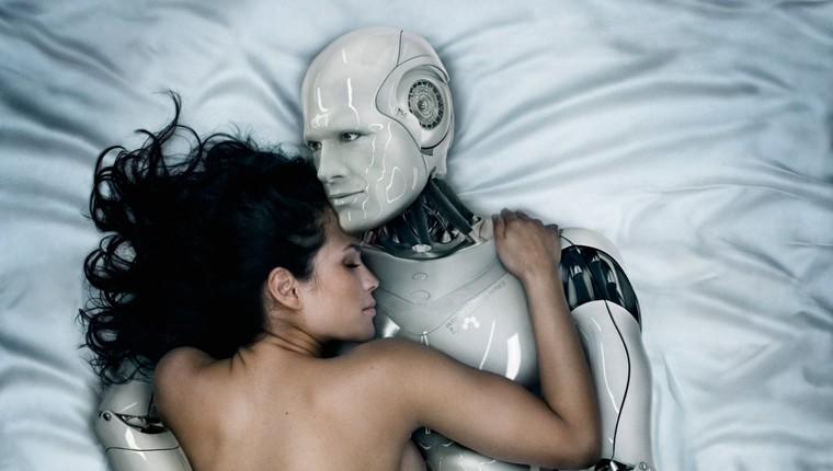 Японский секс с девочками роботами