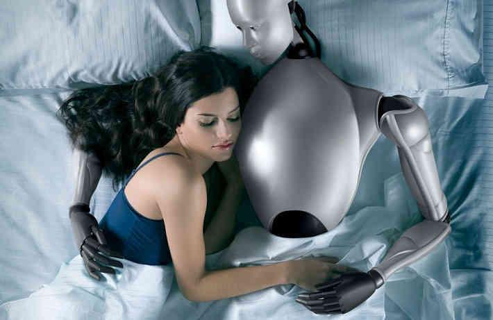 Секс девочки робота