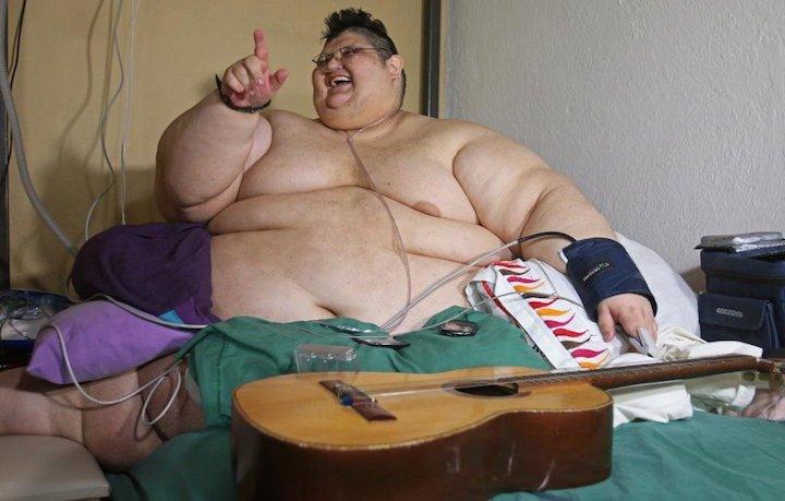 Самый толстый человек — photo 1