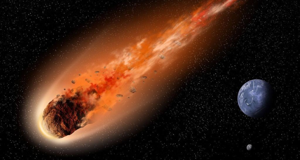 Гигантский метеорит через пять лет уничтожит Землю ...