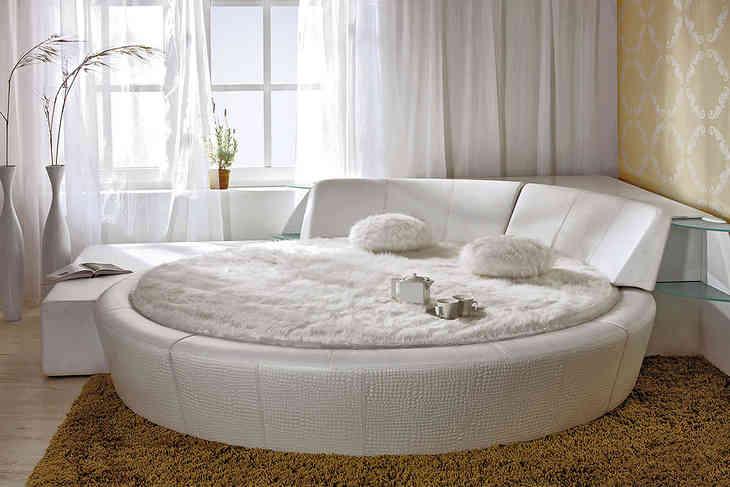 Купить круглую кровать с матрасом в москве заказать матрас минск