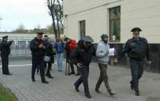 В Барановичах задержали активиста с белым листом бумаги