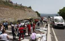 МИД: Белорусов нет среди пострадавших в ДТП с микроавтобусом в Турции