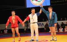 ЧЕ по самбо: белорус Александр Кокша завоевал золотую медаль