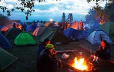Палаточный лагерь Брест