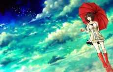 Подражавшая героям мультиков, девочка выпрыгнула с зонтом из окна