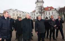 Лукашенко в Гродненской области