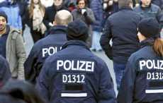 Германия, вокзал, полиция