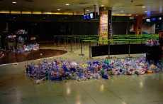 Аэропорт на Ибице превратился в гигантскую свалку