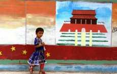 дети в провинции Синьцзян