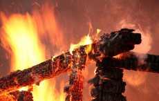 Пуховичский район, пожар