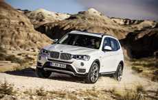 BMW X3 нового поколения представят в августе 2017 года