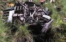 В Мьянме автобус сорвался в пропасть - 19 человек погибло