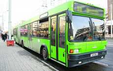 В Минске изменен график движения общественного транспорта