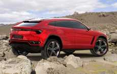 Кроссовер Lamborghini Urus станет единственным гибридом компании