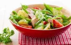 Салат с картофелем и тунцом