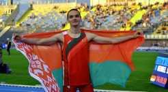 Легкоатлет Набоков установил новый рекорд Беларуси в прыжках в высоту