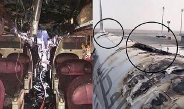 В Катаре сгорел пассажирский самолет