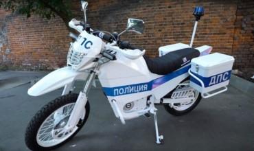 «Калашников» показал полицейский электромотоцикл «Иж» на видео