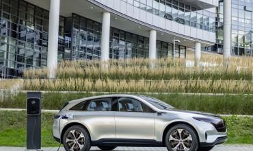 Mercedes-Benz представит на автосалоне в Женеве серийный электромобиль