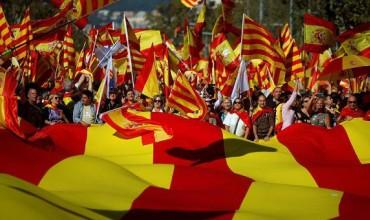 В Каталонии вновь вспыхнули массовые протесты