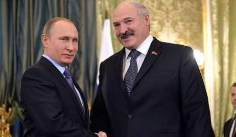 Лукашенко поздравил Путина с победой на президентских выборах