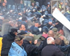 Под Радой столкновения: силовики применили газ против активистов
