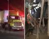 Американец на грузовике протаранил известный в США бордель
